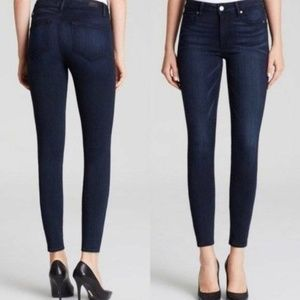 PAIGE Hoxton Ultra Skinny in Noble Dark Wash Jeans